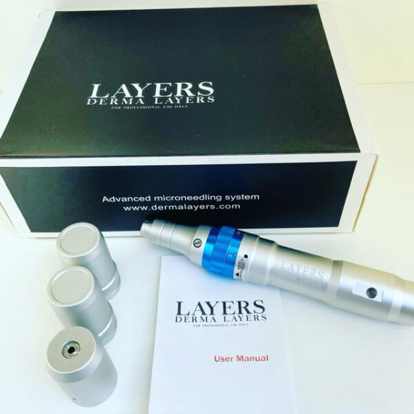 Microneedling Pen Derma Layers Most Advanced Rechargable and Adjustable Auto Microneedle System